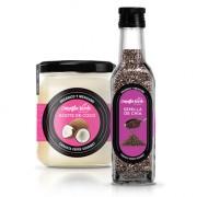 Pink Pack chía y aceite de coco