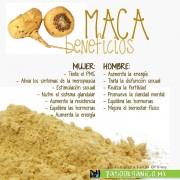 Cápsulas de Maca - Patio Organico
