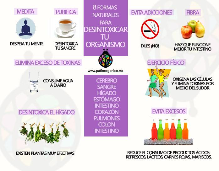 Infografía Desintoxicación