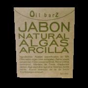 Jabón Algas Arcilla Oil Barz