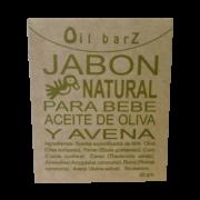 Jabón Natural Para Bebé Oil Barz
