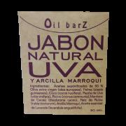Jabón Uva y Arcilla Marroqui Oil Barz