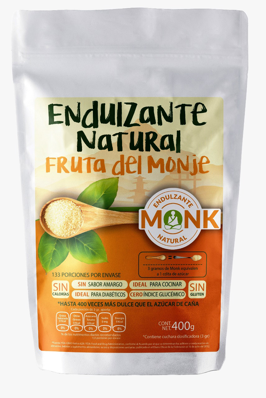 Endulzante Natural Monk Fruit
