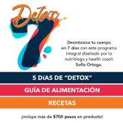 Programa Detox 7 días