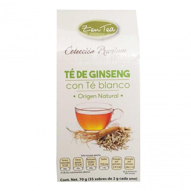 Té de Ginseng con Té Blanco