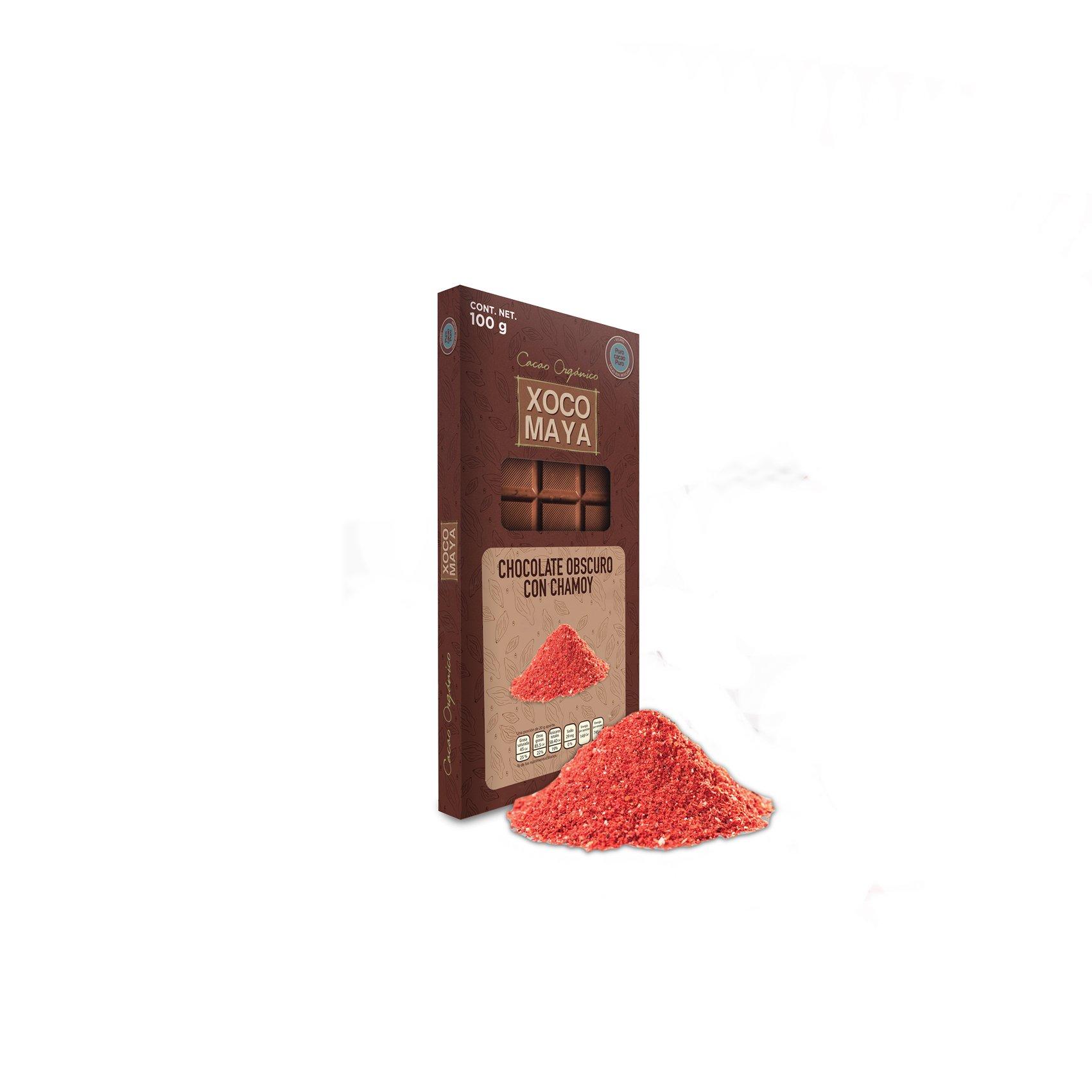 Barra de Chocolate con Chamoy de Xocomaya