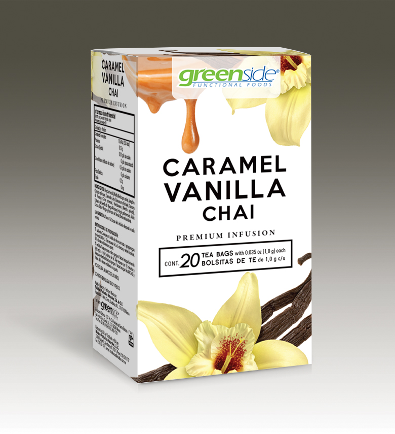Infusión Caramel Vanilla Chai Gourmet