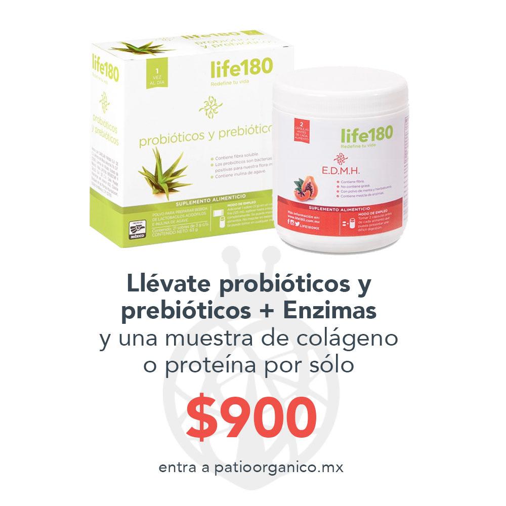 Paquete Prebióticos y Probióticos + Enzimas