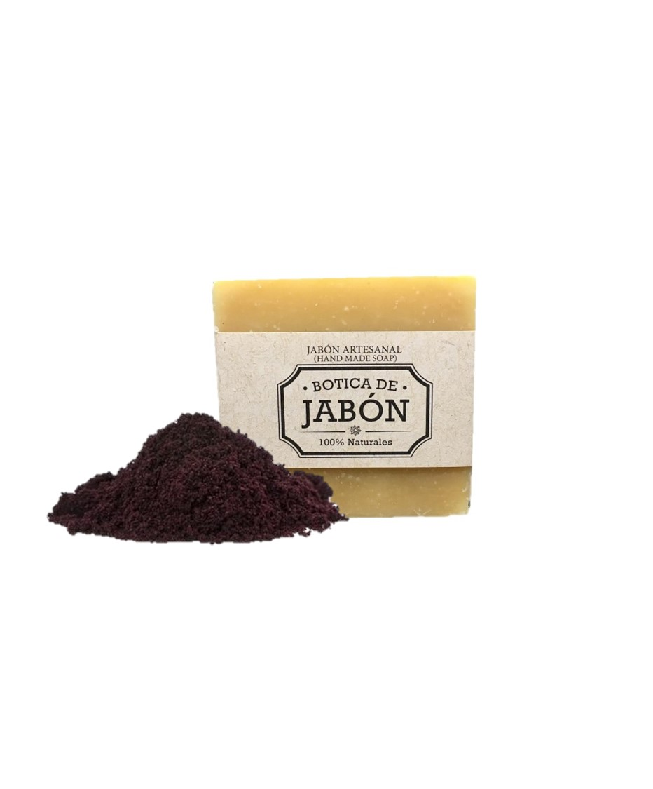 Jabón Artesanal de Acai-Verbena