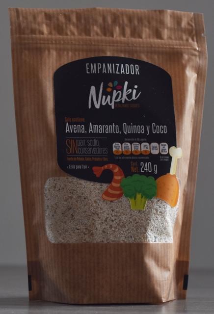 Empanizador de Quinoa, Amaranto, Avena y Coco.