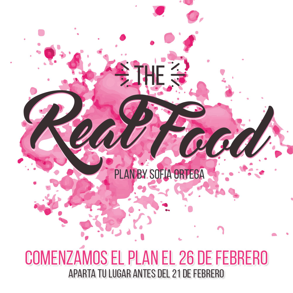 "Plan 14 días ""Real Food"" by Sofia Ortega"