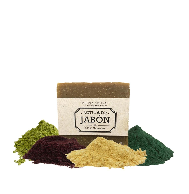 Jabón Artesanal de Superfoods Jengibre