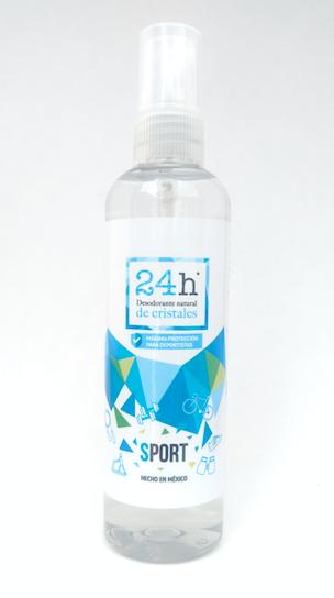 Desodorante Natural de Cristales Sport 24h