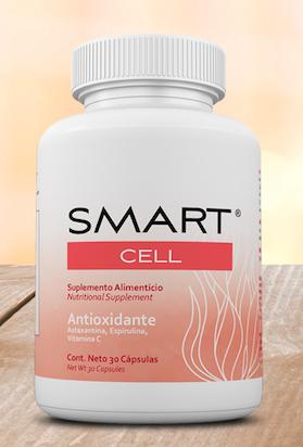 SMART CELL® Antioxidante (Astaxantina, Espirulina y Vitamina C)