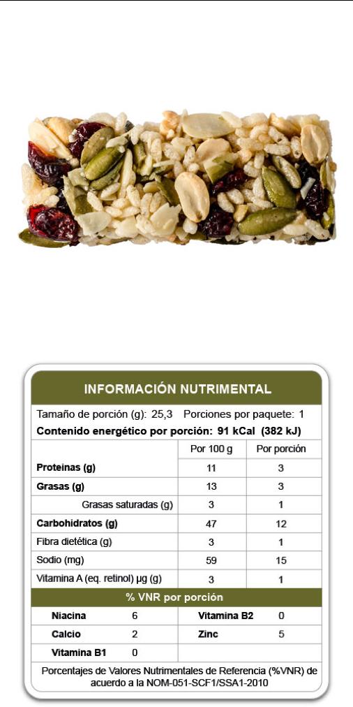 Barrita Gourmet Bites de Ligero Bienestar