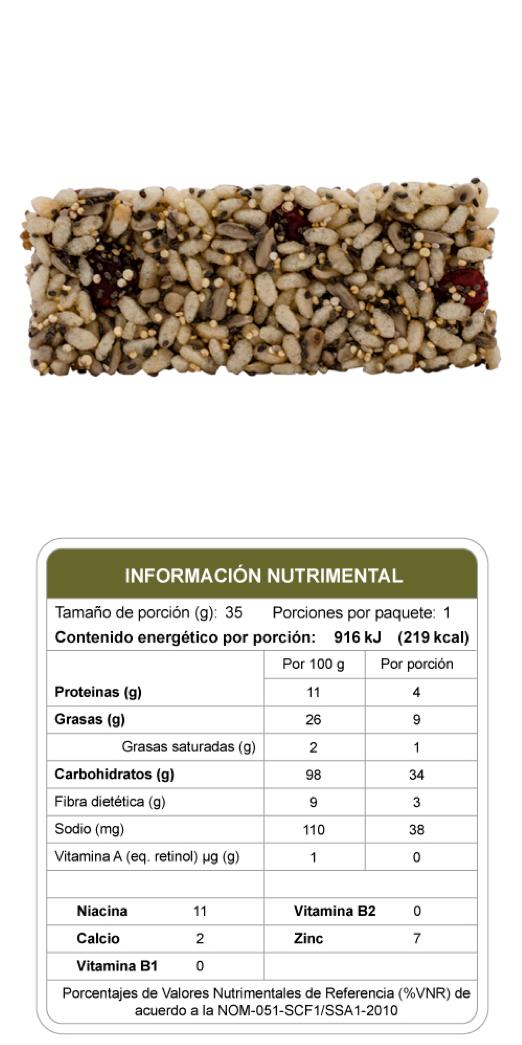 Barrita Gourmet Bites de Quinoa Cereza