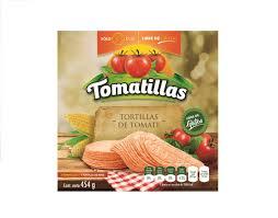 Tortillas de Tomate Tomatillas