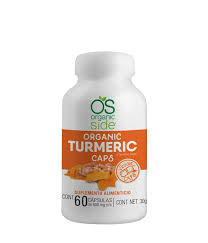 Tumeric Organic Caps – Cápsulas de Cúrcuma Orgánicas