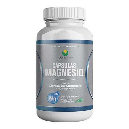 Cápsulas de Citrato de Magnesio