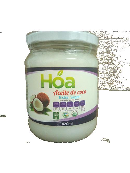 Aceite de Coco Extravirgen Orgánico