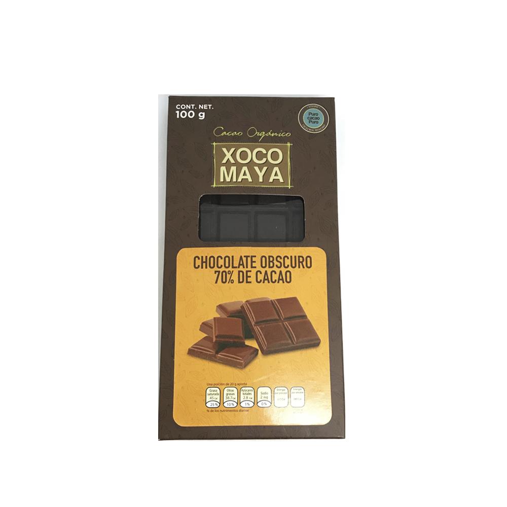 Barra de Chocolate Obscuro 70% Cacao