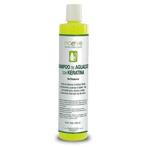 Shampoo de Aguacate con Keratina Maeiva