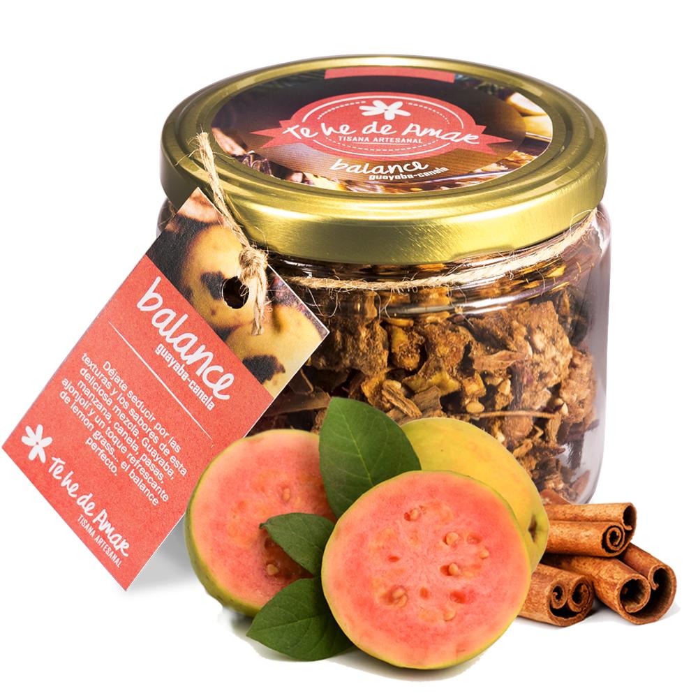 Infusión de Frutas Naturales y Semillas Balance Guayaba y Canela