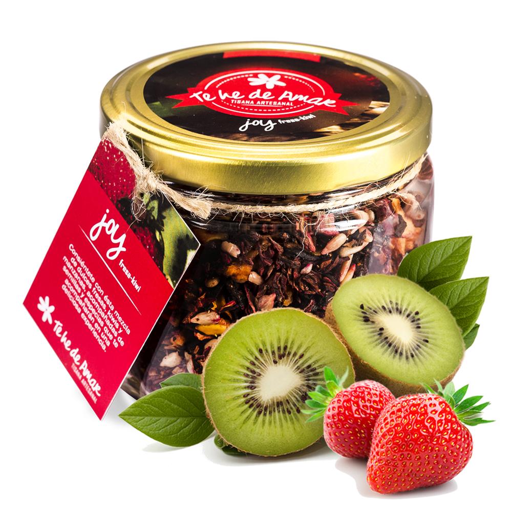 Infusión de Frutas Naturales y Semillas JOY Fresa y Kiwi