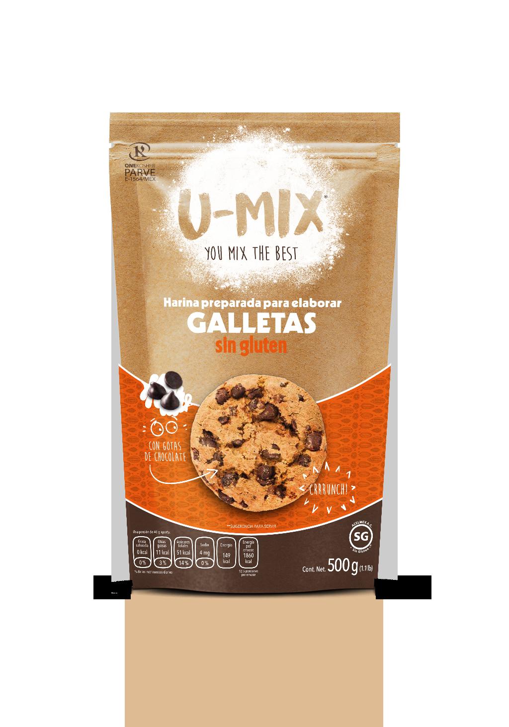 Harina Preparada Para Galletas sin Gluten