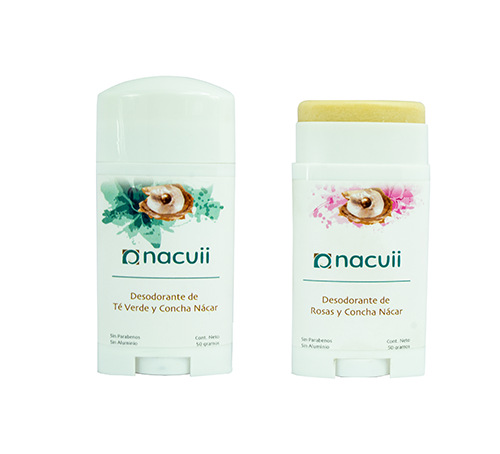 Desodorante de Concha Nácar