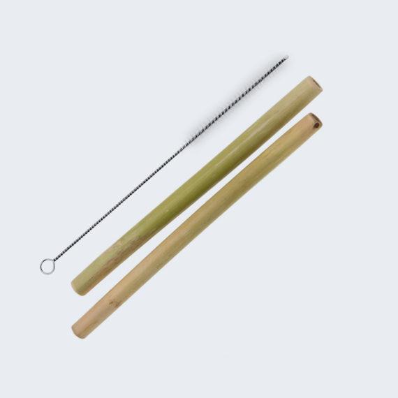 Popotes de Bambú *Ayuda al Planeta Llevándolos en tu bolsillo*